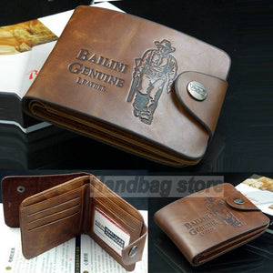Men's Classic Genuine Leather Wallet - The Deal Finder