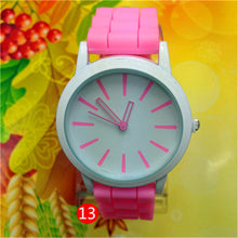 Geneva Silicone Quartz Watch for Women - The Deal Finder