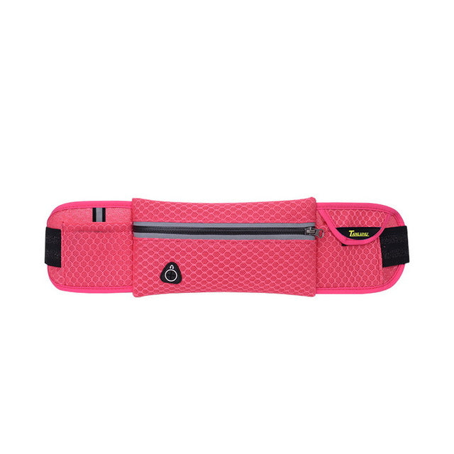 40cm Multifunction Running Waist Bag With Headset Hole (Fits Smartphones)