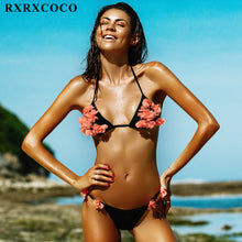 Hot Cheeky Style Floral Brazilian Bikini Set - The Deal Finder