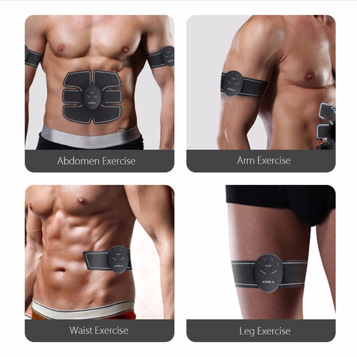 Smart EMS Electric Pulse Treatment Abdominal Muscle Trainer - The Deal Finder