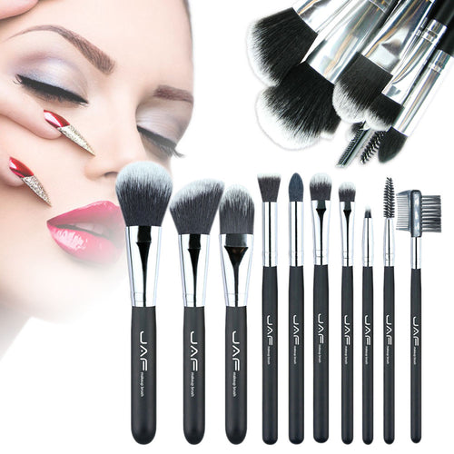 10pcs Professional Soft Makeup Brushes - The Deal Finder