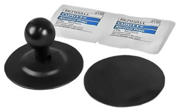 RAM FLEX ADHESIVE BASE WITH 1 INCH BALL
