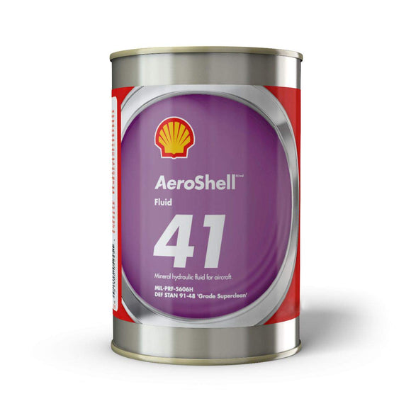 AEROSHELL HYDRAULIC FLUID 41 CASE