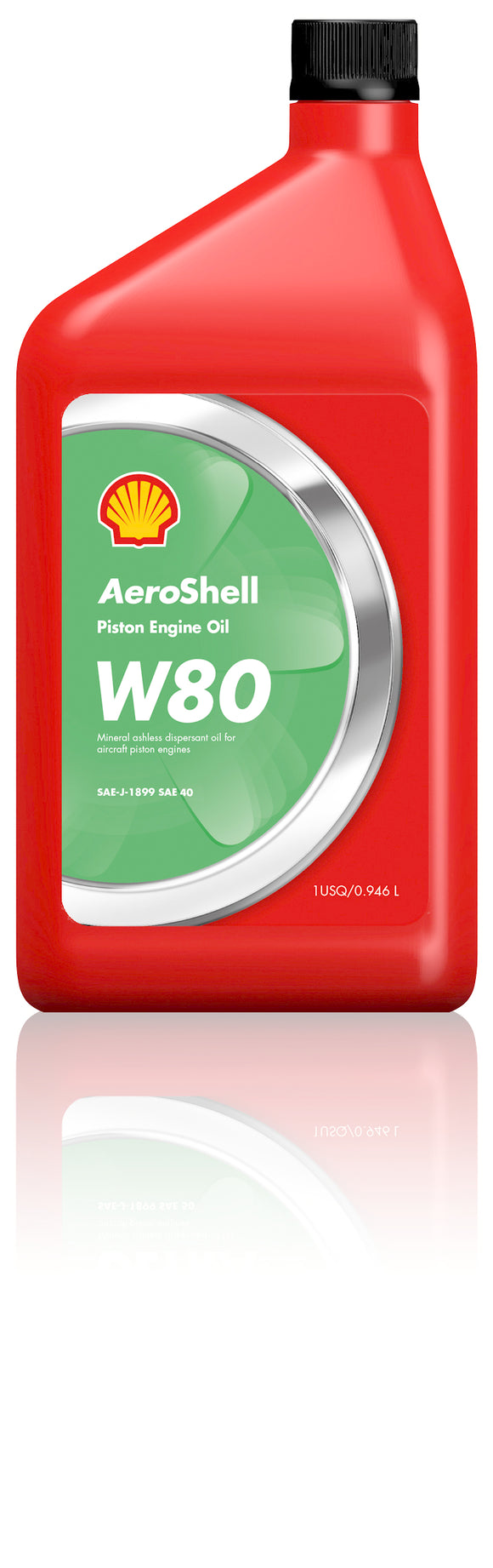 W80 SAE 40 Piston Oil