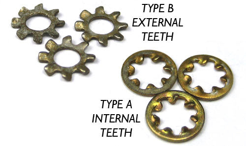 Lockwasher, Internal Tooth (25 pack)
