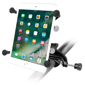 "Yoke Clamp Mount with Universal X-Gripå¨ Cradle with 1"" Ball for 7""-8"" Tablets"