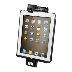 RAM LOCKING SYNC CRADLE FOR APPLE IPAD 2 / 3 WITHOUT CASE
