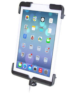 Tab-Tite Universal Spring Loaded Cradle for the iPad mini 1-3 WITHOUT CASE, SKIN OR SLEEVE