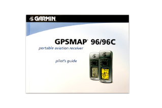 GPSMAP 96 owner's manual (English)