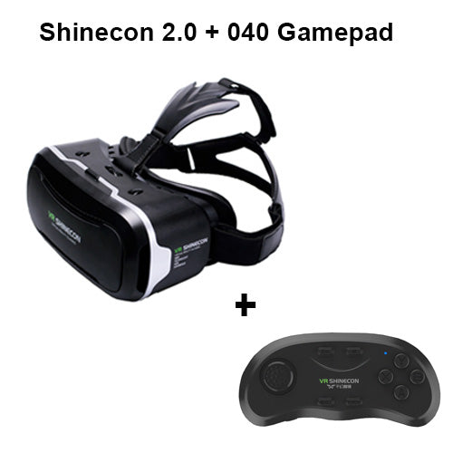 68c0eb979a24 VR Shinecon 2.0 3D Glasses Virtual Reality Smartphone Headset Google  Cardboard VR BOX Helmet for Iphone Android 4.7-6  Phone