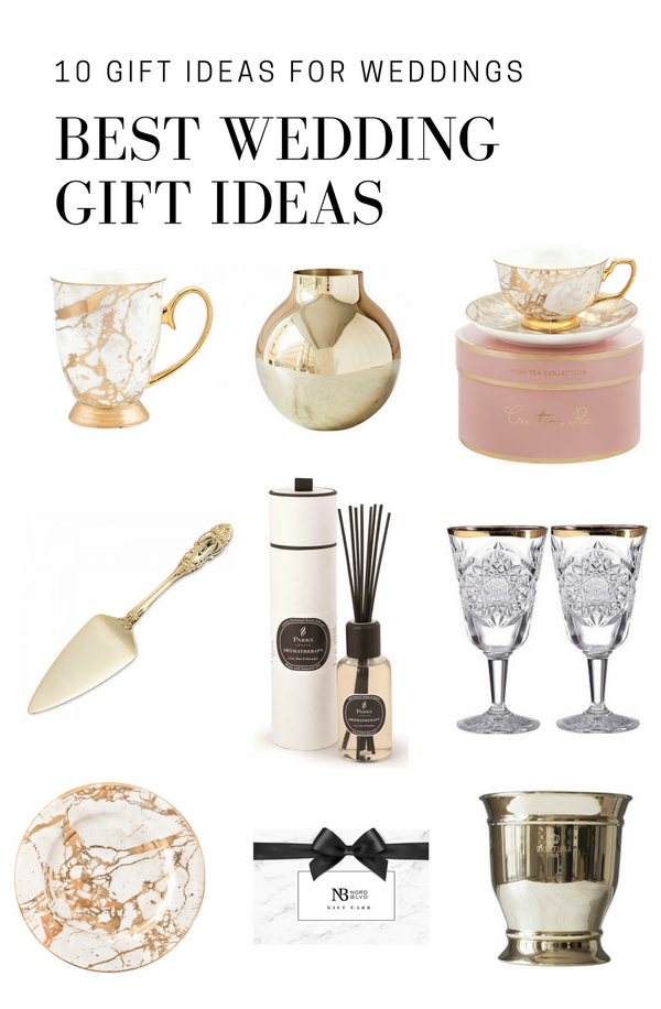10 GIFT IDEAS FOR WEDDINGS