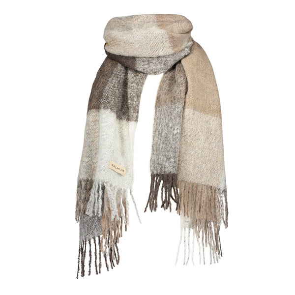MONTROSE SCARF - Sand Check
