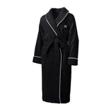 PORTOFINO ROBE, 100% Cotton Black