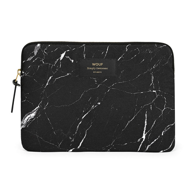 IPAD CASE, BLACK MARBLE