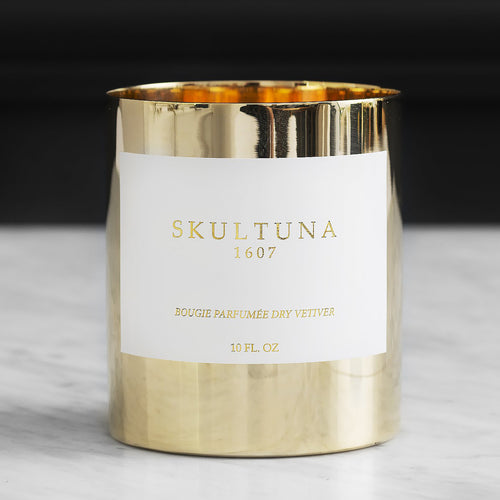 LUXURY SCENTED CANDLE DRY VETIVER
