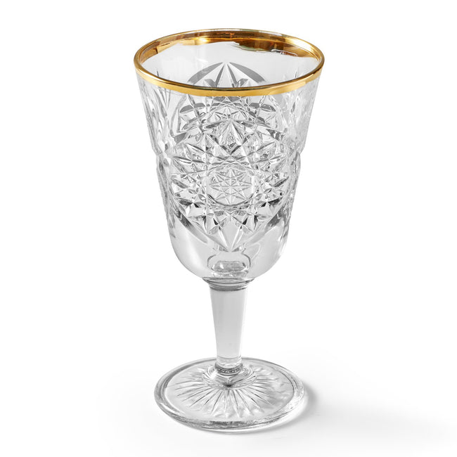 LIBBEY HOBSTAR GOLD – WINE GLASS, 300 ml, 2 PCS.