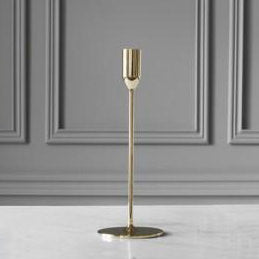 NATTLIGHT CANDLE HOLDER, 28 cm, BRASS