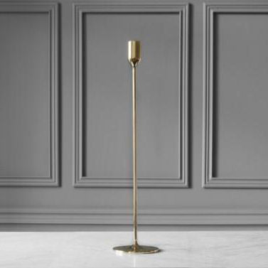 NATTLIGHT CANDLE HOLDER, 45 cm, BRASS