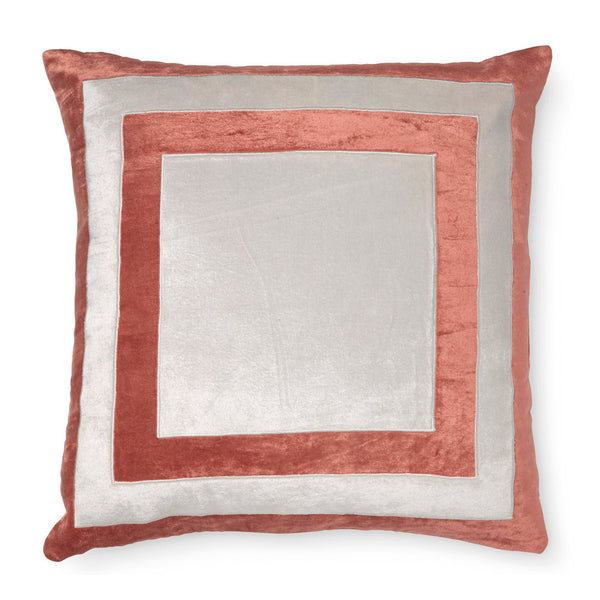 FIRENZE GINGER SPICE PILLOW CASE FOR DECORATIVE PILLOW 50 x 50