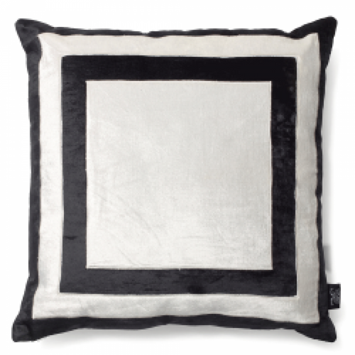 FIRENZE BLACK PILLOW CASE FOR DECORATIVE PILLOW 50 x 50