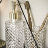 DIAMANTE LIQUID SOAP DISPENSER