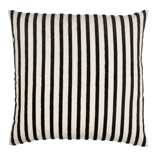 ORMOND DECORATIVE PILLOW 50 x 50 cm  BLACK