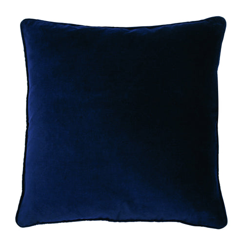 VERONICA DECORATIVE PILLOW, 50 x 50 cm, DARK BLUE