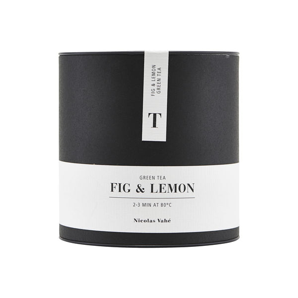 GREEN TEA, FIG & LEMON, 100 g