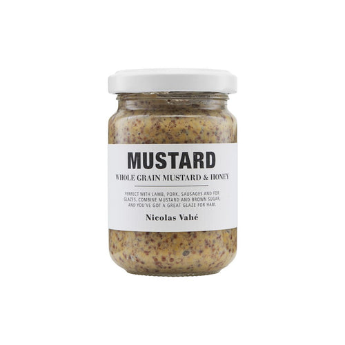 MUSTARD, WHOLE GRAIN WITH HONEY, 140 g