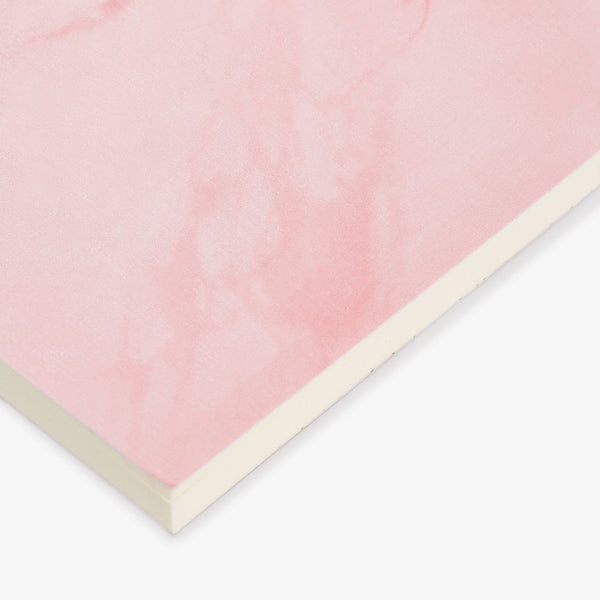 A5 NOTEPAD, PALE PINK MARBLE