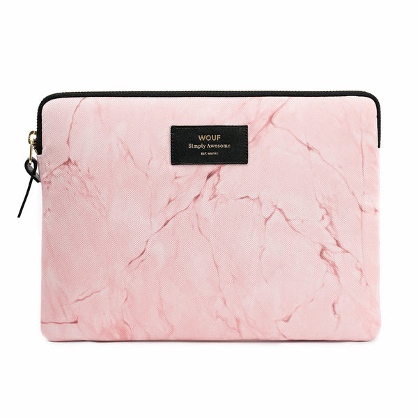 IPAD CASE, PALE PINK MARBLE