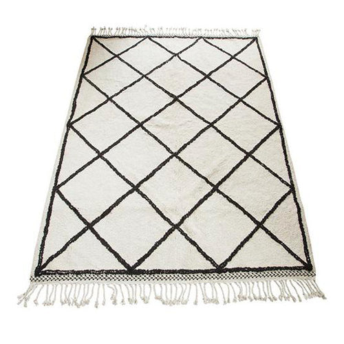 OSLO BLACK-WHITE RUG