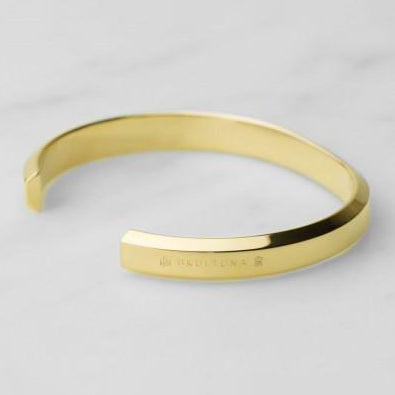 BRACELET ICON CUFF GOLD PLATED