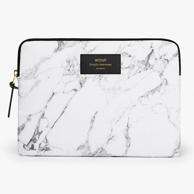IPAD CASE, WHITE MARBLE