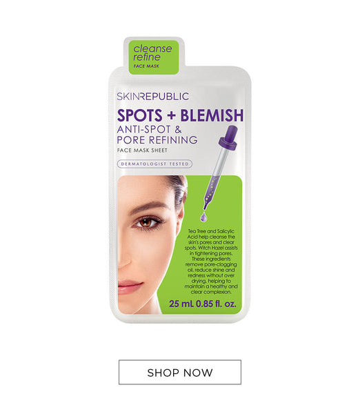 Skin Republic Spots + Blemish Face Mask