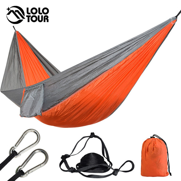 1 Person Portable Parachute Outdoor Camping Hammock - Wild Canuck™