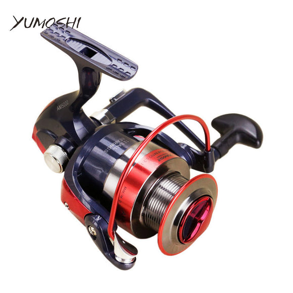 Metal Spool Spinning Fishing Reels With Rubber Handle- 12BB Stainless Steel Shaft Rear Drag - Wild Canuck™