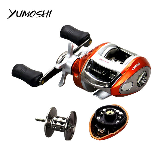 Right or Left hand Baitcasting Reel With Magnetic Brake - Wild Canuck™