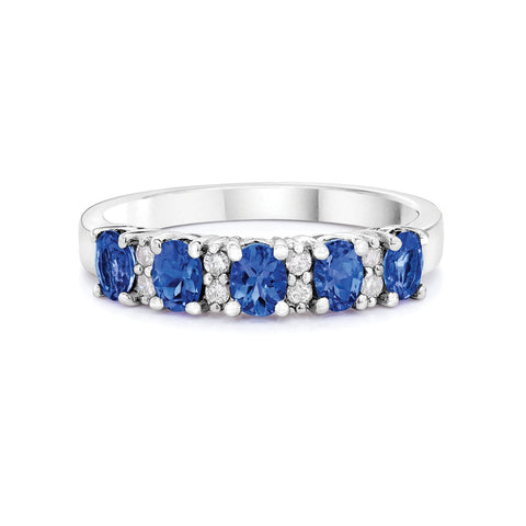 Safi Kilima Tanzanite & Diamond Ring