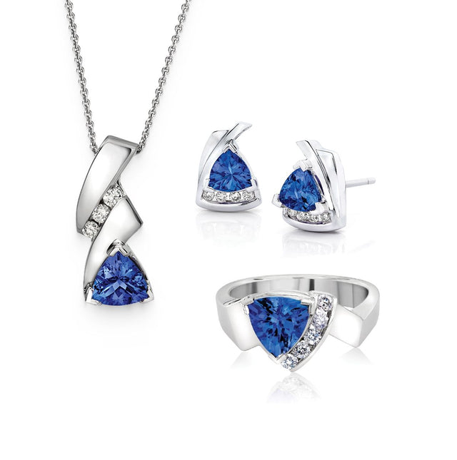 Safi Kilima Tanzanite Bundle with Earrings