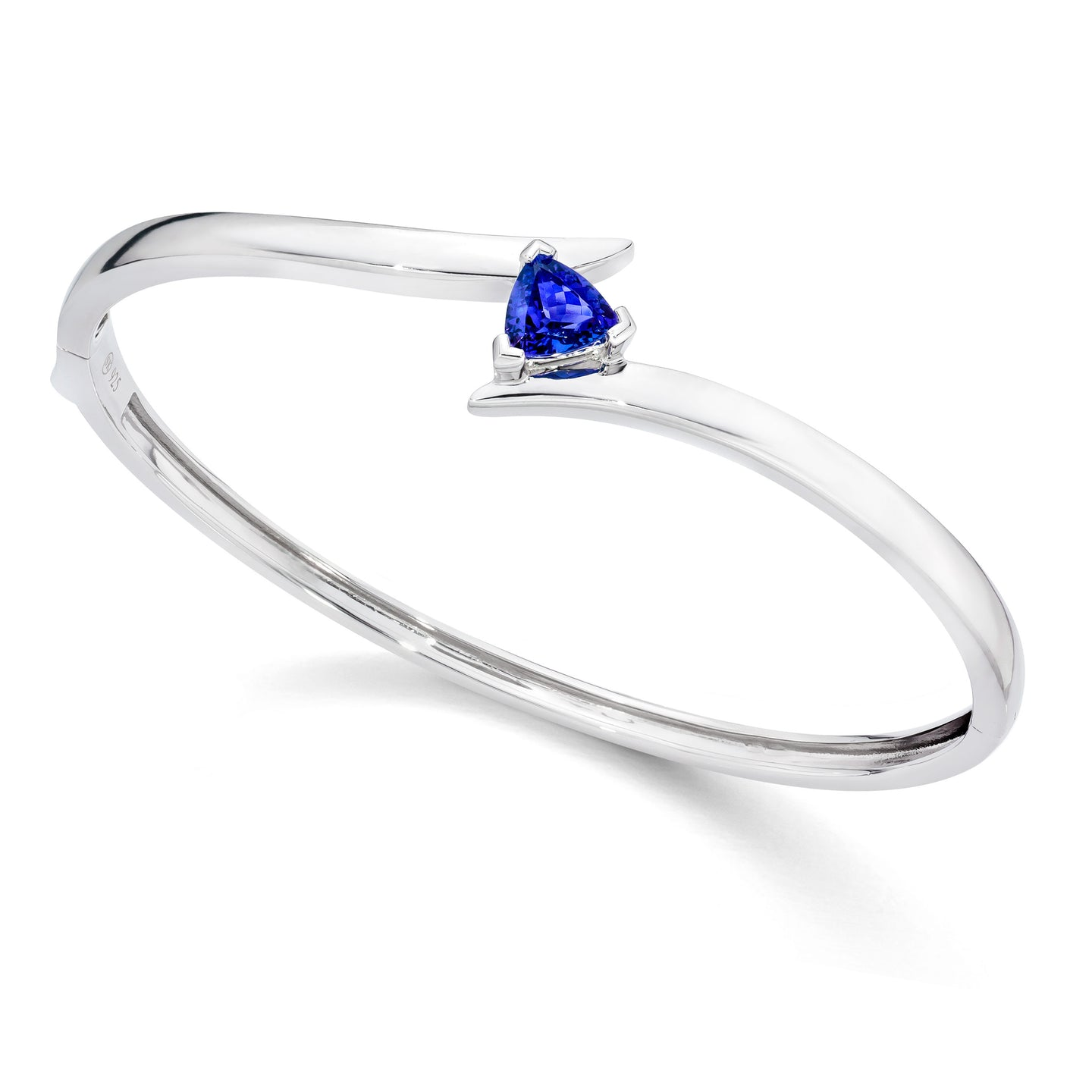 Safi Kilima Tanzanite Trillion Bangle