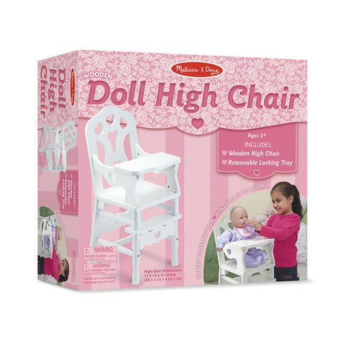 Wooden Doll High Chair