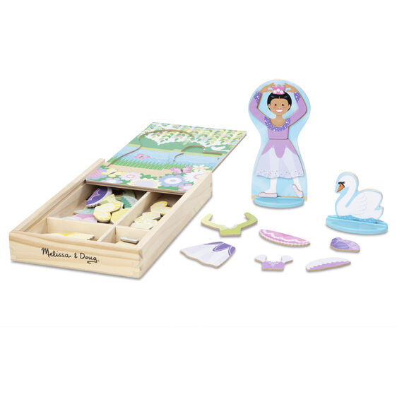 Ballerina/Fairy Magnetic Dress-Up Play Set