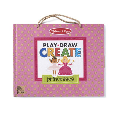 Natural Play: Play, Draw, Create Reusable Drawing & Magnet Kit - Princess