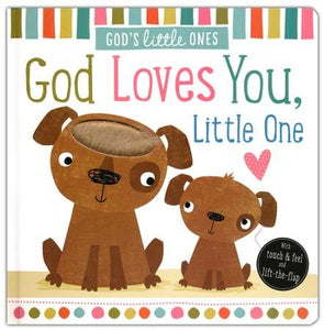 God's Little Ones: God Loves You Little One Boardbook