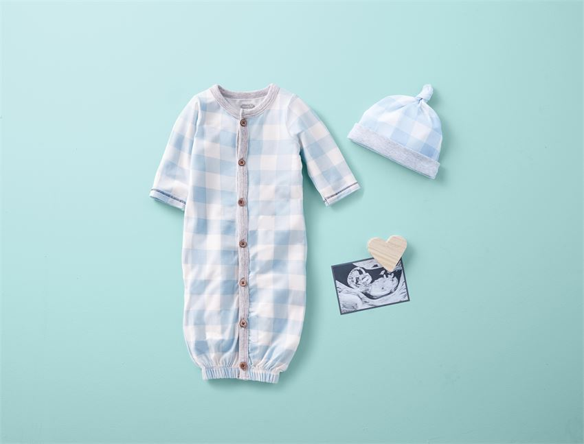 Blue Gingham Take Me Home Set