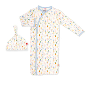 Ice Ice Cream Baby Modal Magnetic Gown Set