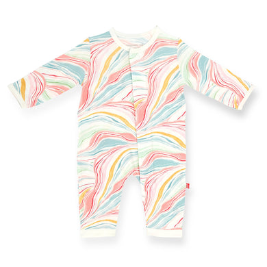 Twirls & Swirls Modal Magnetic Coverall
