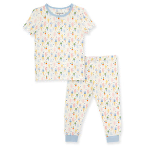 Ice Ice Cream Baby Modal Magnetic 2 Piece Toddler PJs